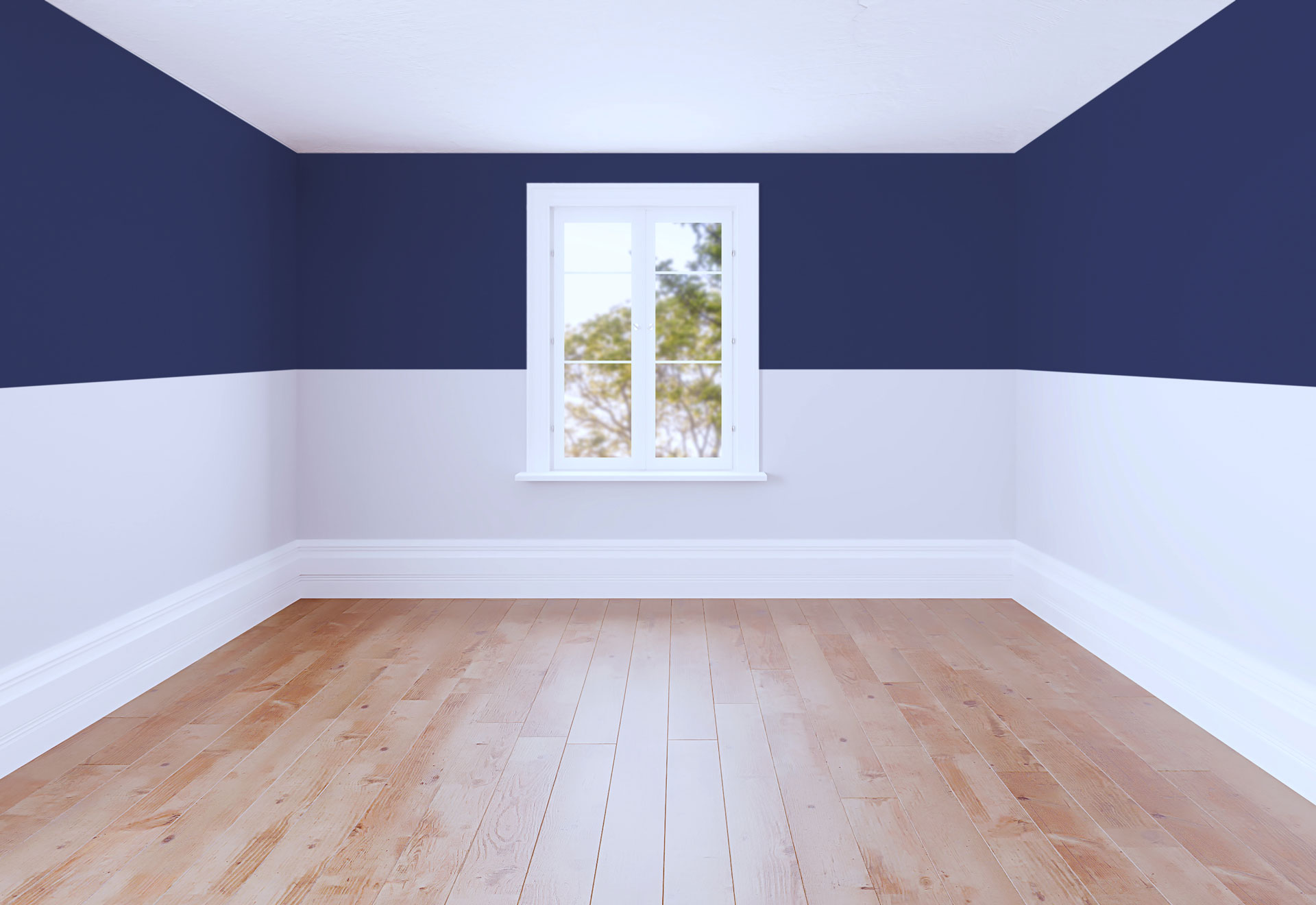 Shorten and Add Depth to Your Room