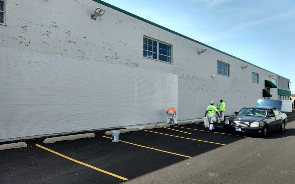 Parking Spots Painting and Lining