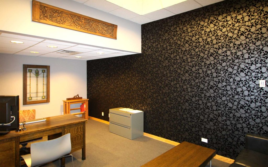 Commercial Wallpaper Instalation